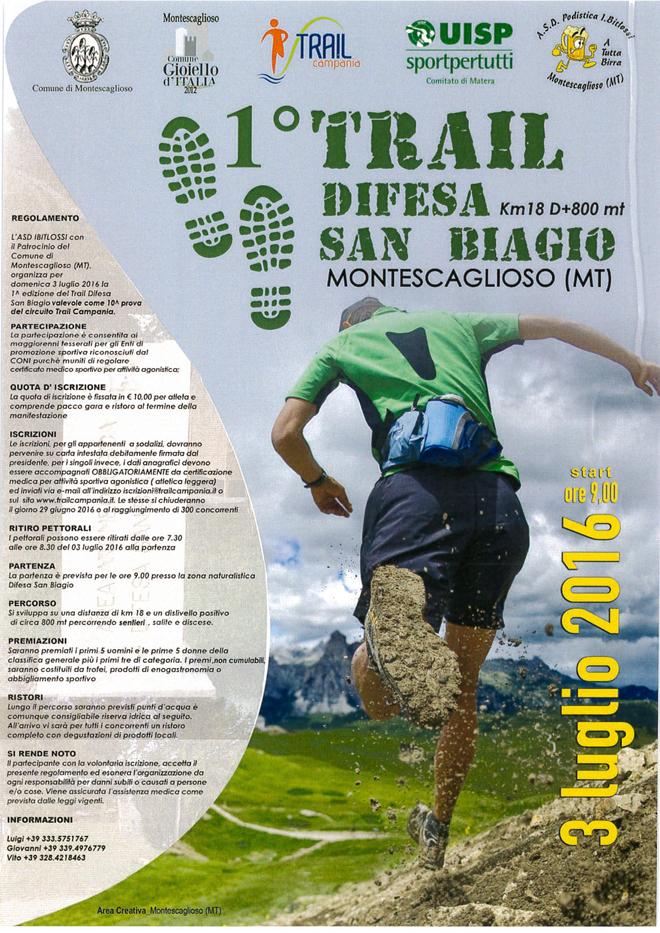 1° Trial Difesa San Biagio – Montescaglioso