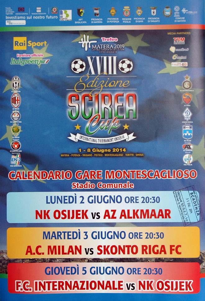 Il torneo di calcio Scirea CUP 2014